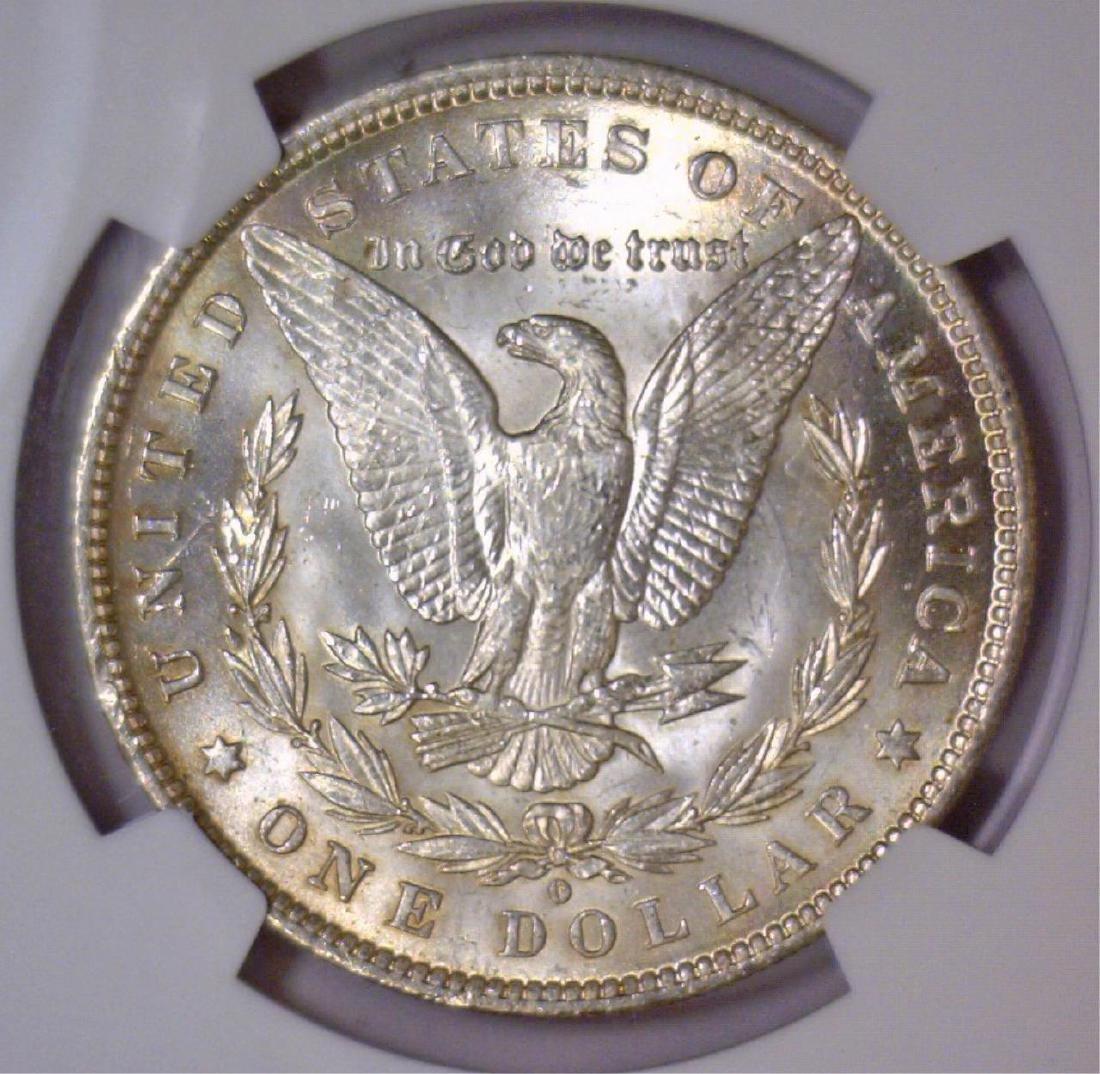 1884-O Morgan Silver Dollar NGC MS62 - 3