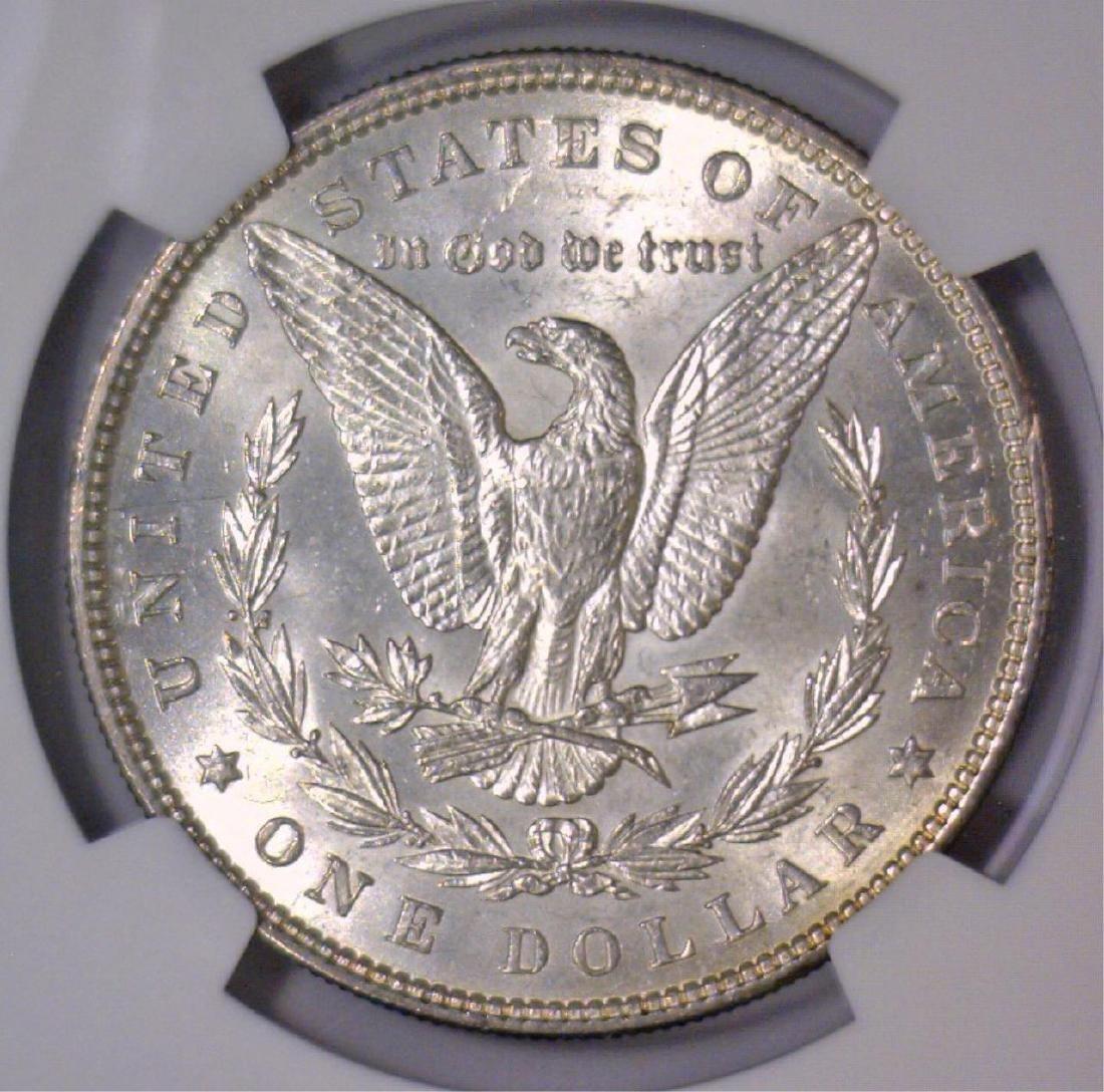 1885 Morgan Silver Dollar NGC MS62 - 3