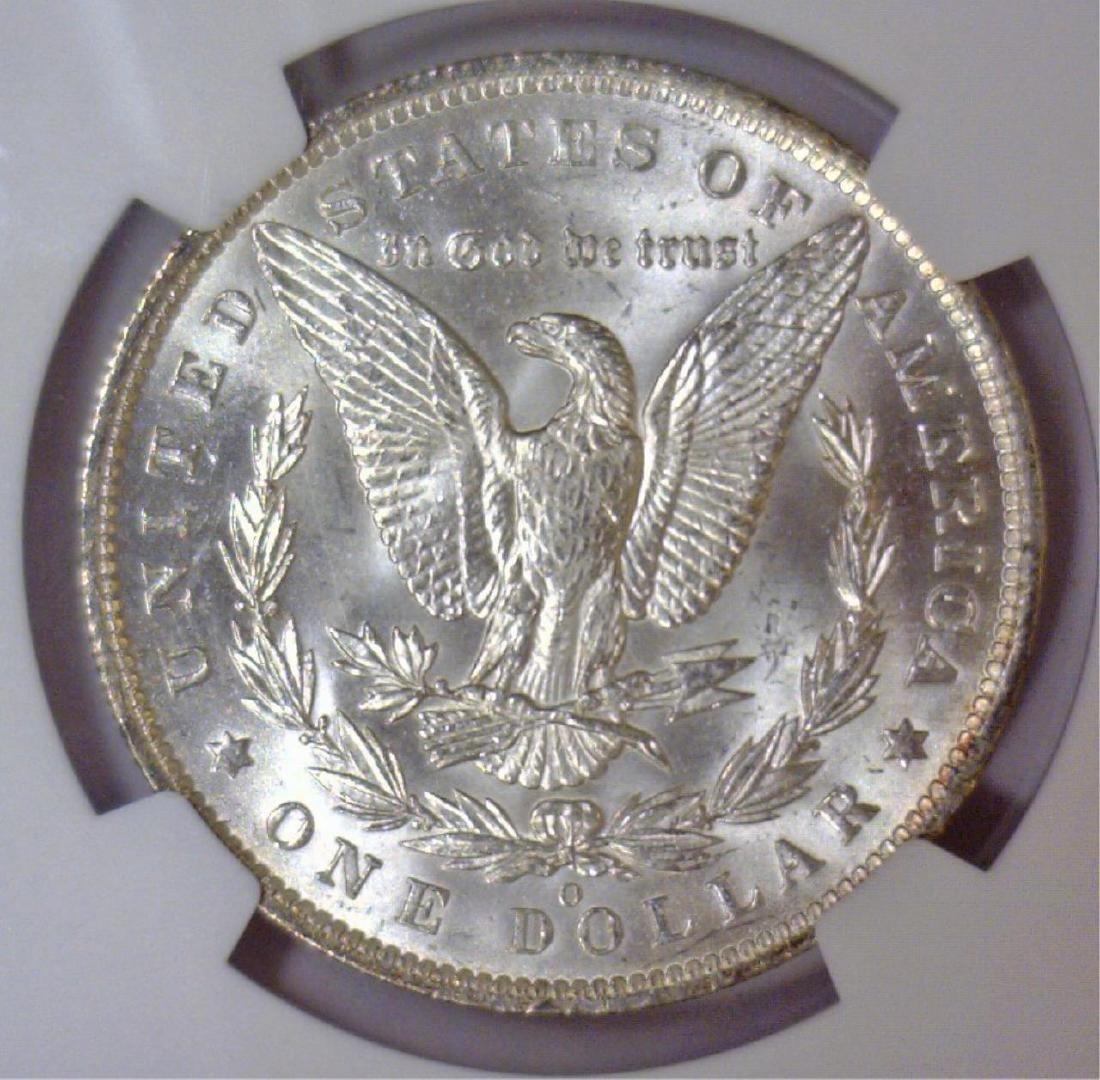 1885-O Morgan Silver Dollar NGC MS62 - 3