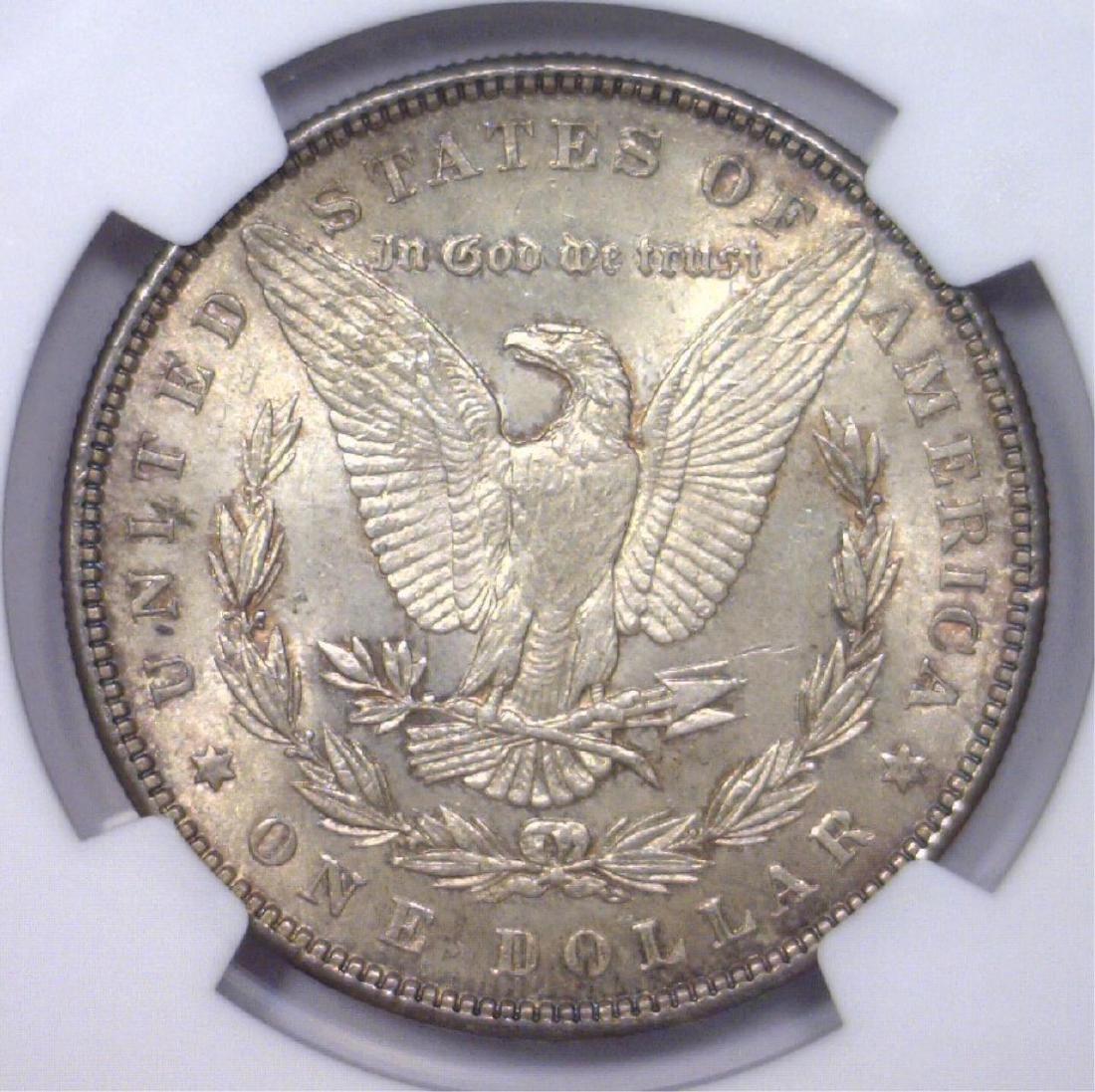 1888 Morgan Silver Dollar NGC MS63 - 3