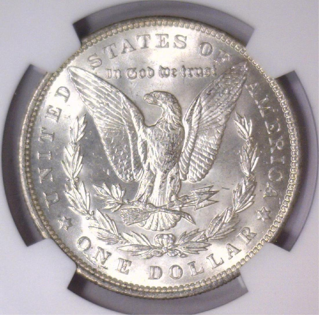 1896 Morgan Silver Dollar NGC MS64+ - 3