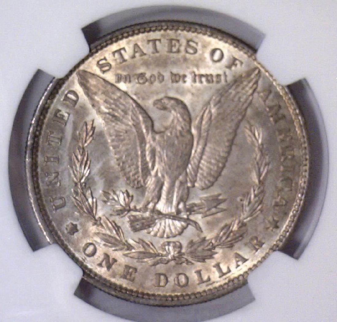Investor Lot of 5 1896 Morgan Silver $1 NGC MS63 - 11