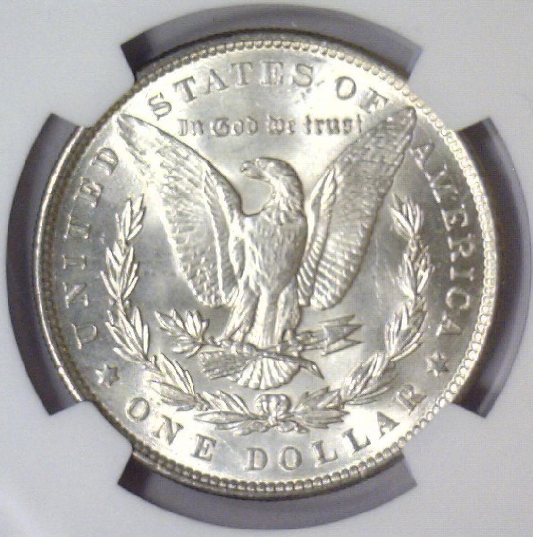 Investor Lot of 5 1896 Morgan Silver $1 NGC MS63 - 5