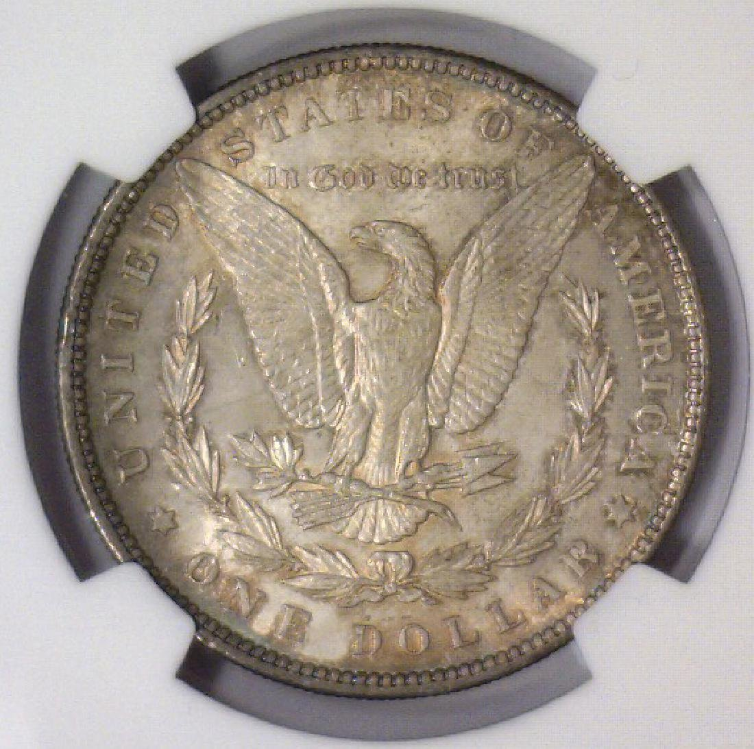Investor Lot of 5 1896 Morgan Silver $1 NGC MS63 - 7