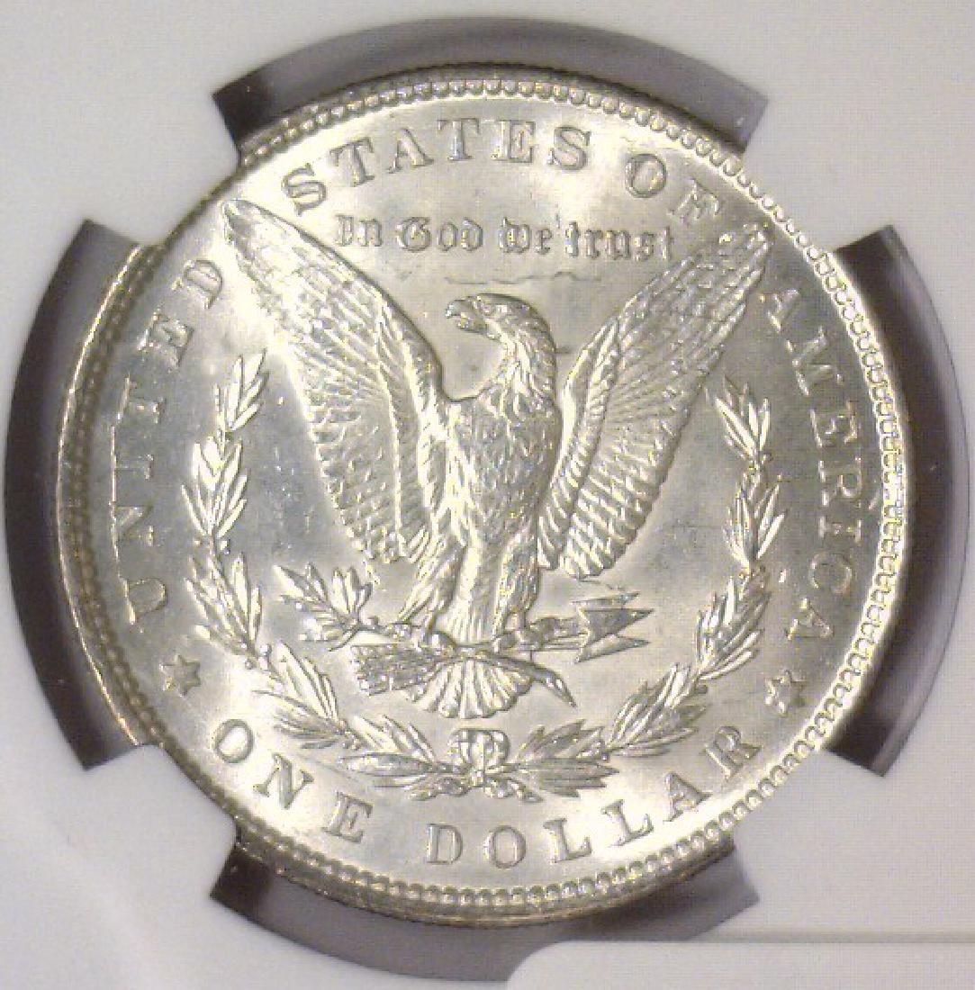 Investor Lot of 5 1896 Morgan Silver $1 NGC MS63 - 9