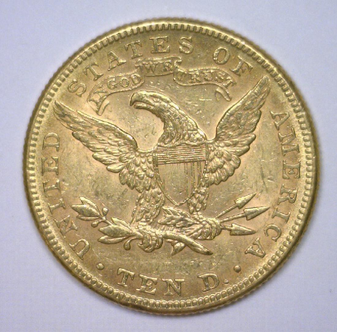 1882 $10 Liberty Gold Eagle Extra Fine XF45 - 2