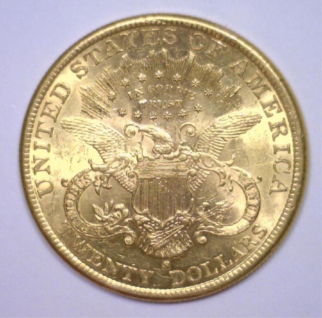 1899-S $20 Liberty Gold Double Eagle BU MS63 - 2