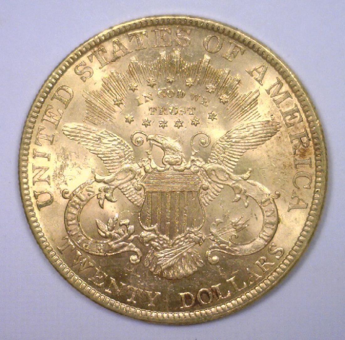 1900 $20 Liberty Gold Double Eagle BU - 2
