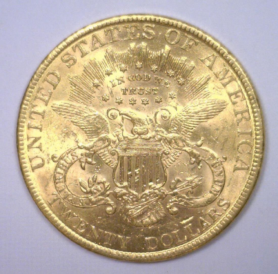 1900 $20 Liberty Gold Double Eagle BU MS62 - 2