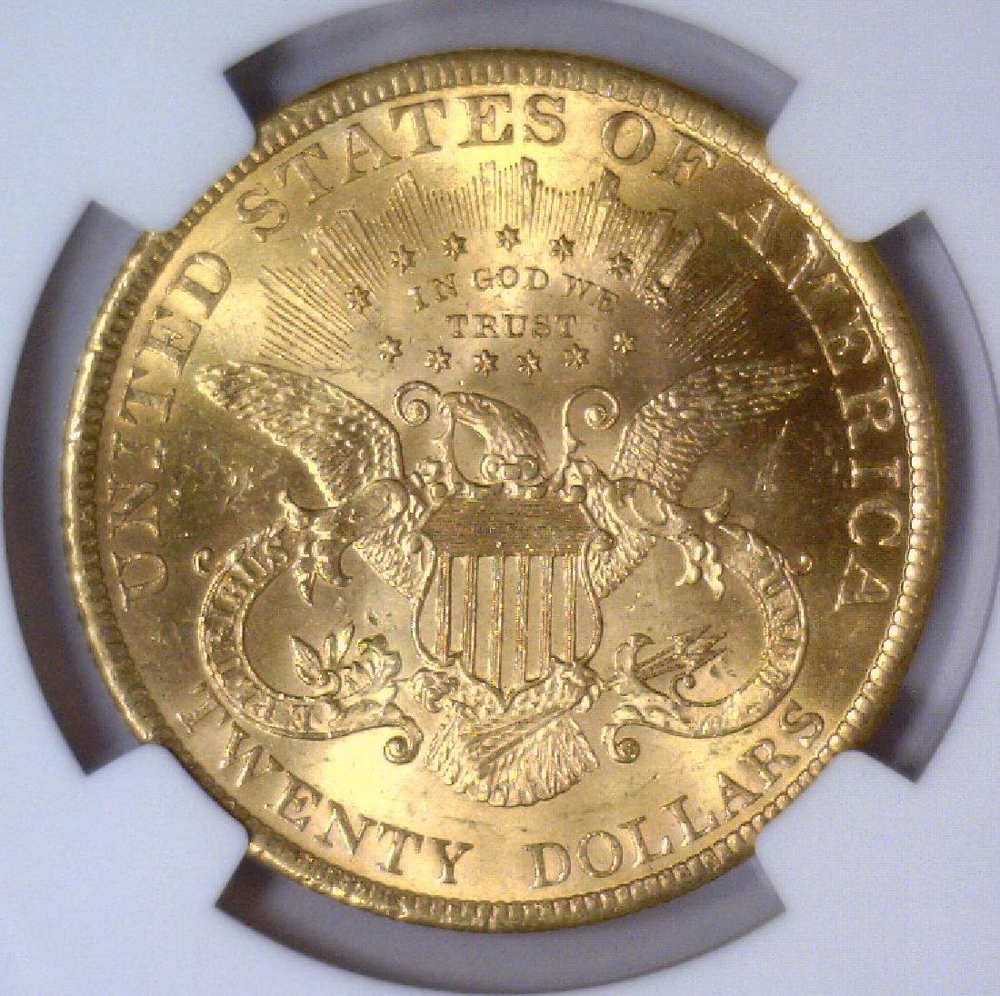 1900 $20 Liberty Double Eagle Gold NGC MS63 - 3