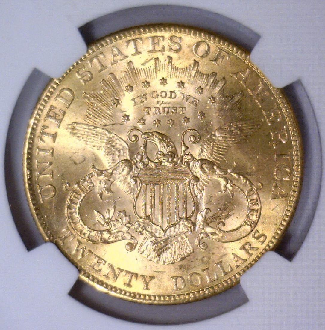 1901 $20 Liberty Double Eagle Gold NGC MS63 - 2