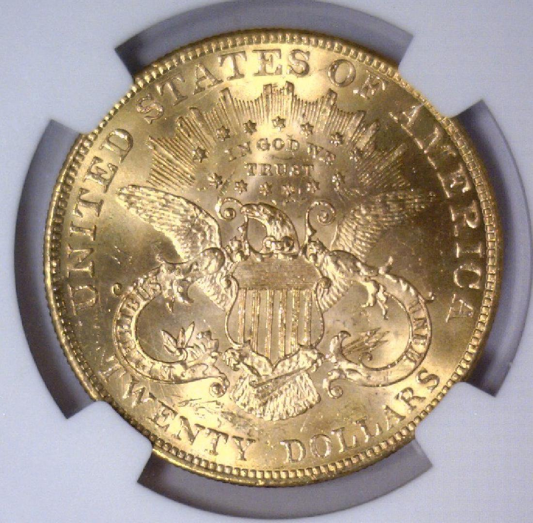1901 $20 Liberty Double Eagle Gold NGC MS64 - 3