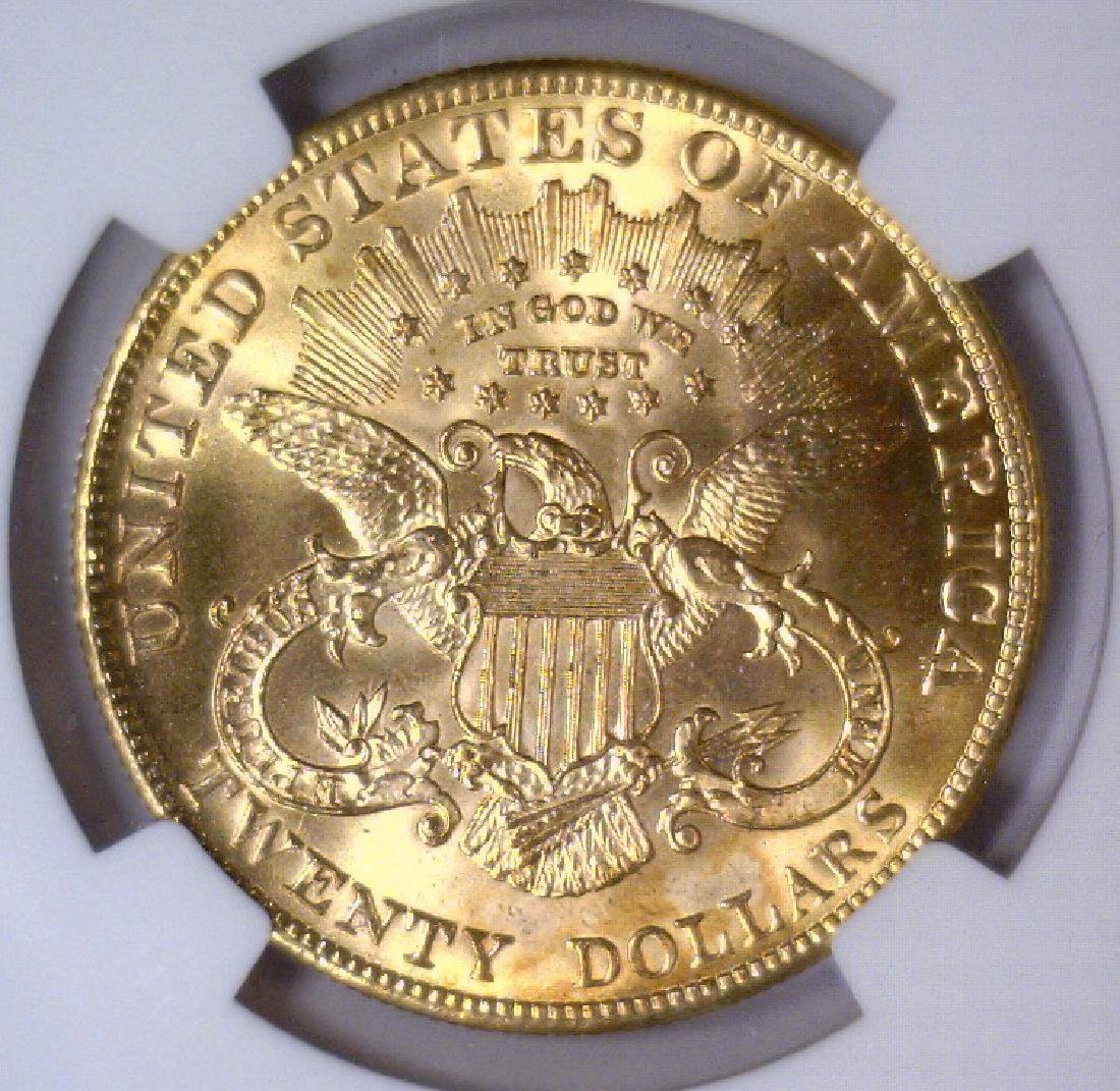 1903 $20 Liberty Double Eagle Gold NGC MS63 - 3