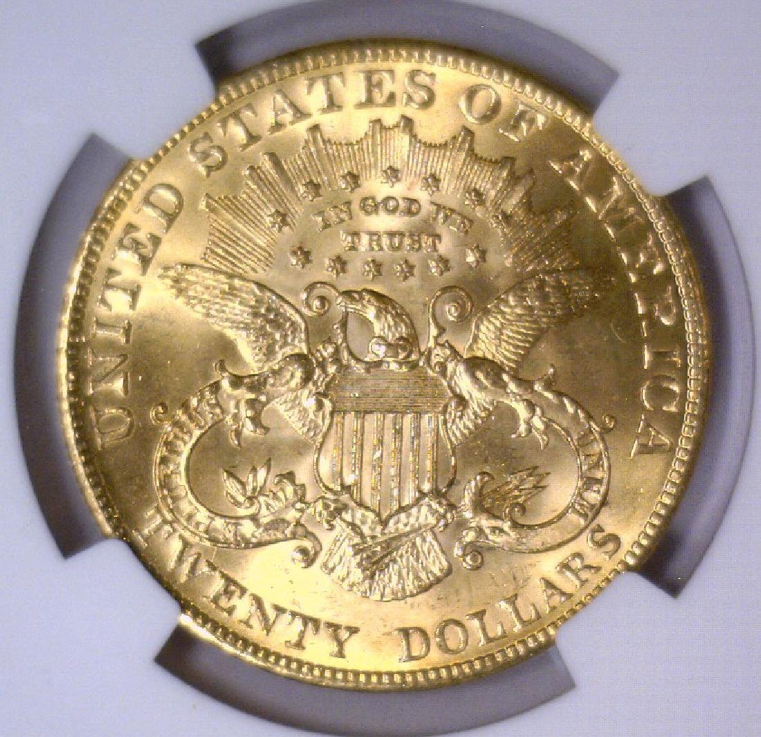 1903 $20 Liberty Double Eagle Gold NGC MS64 - 3
