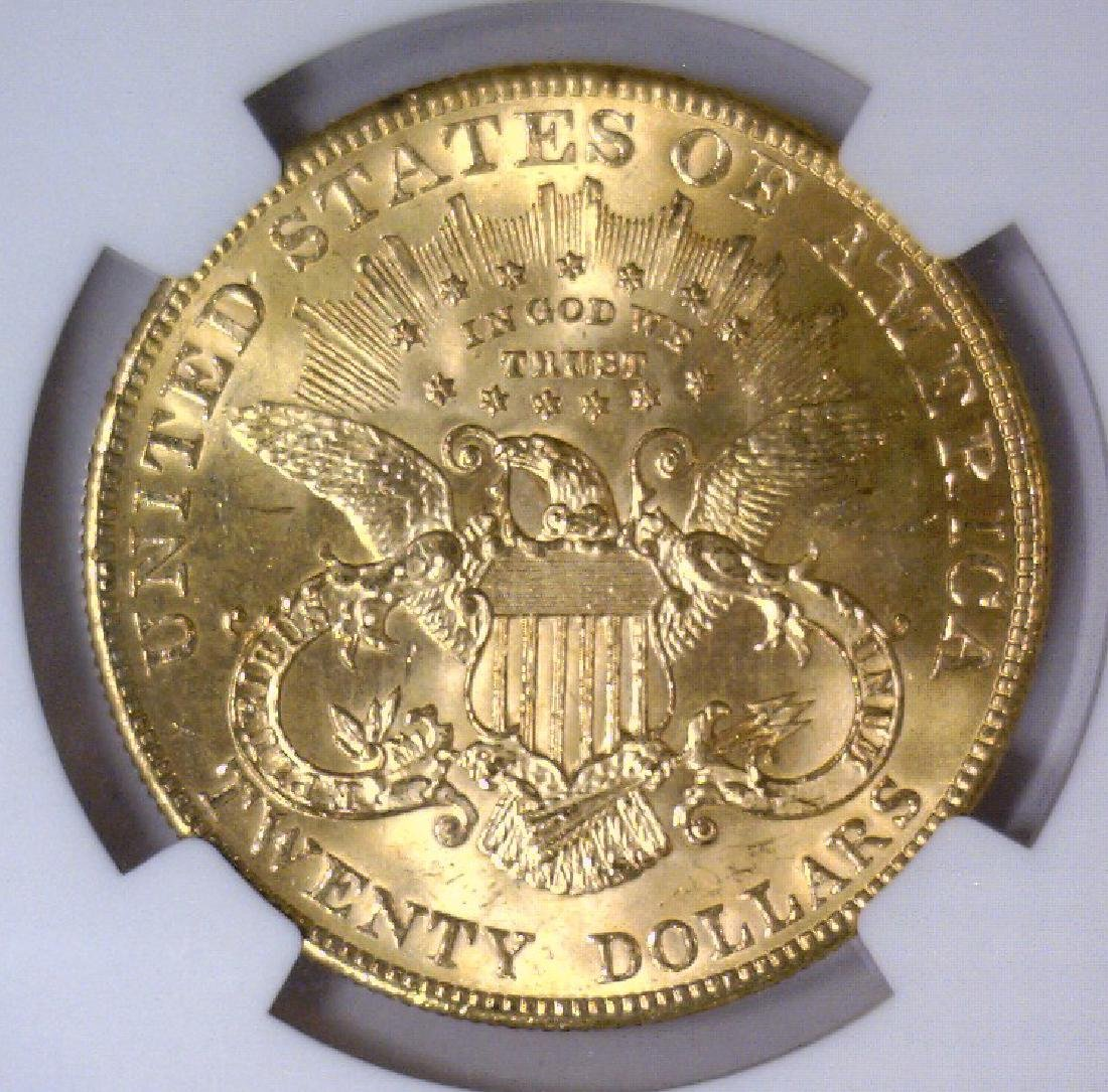 1903 $20 Liberty Double Eagle Gold NGC MS64 - 3