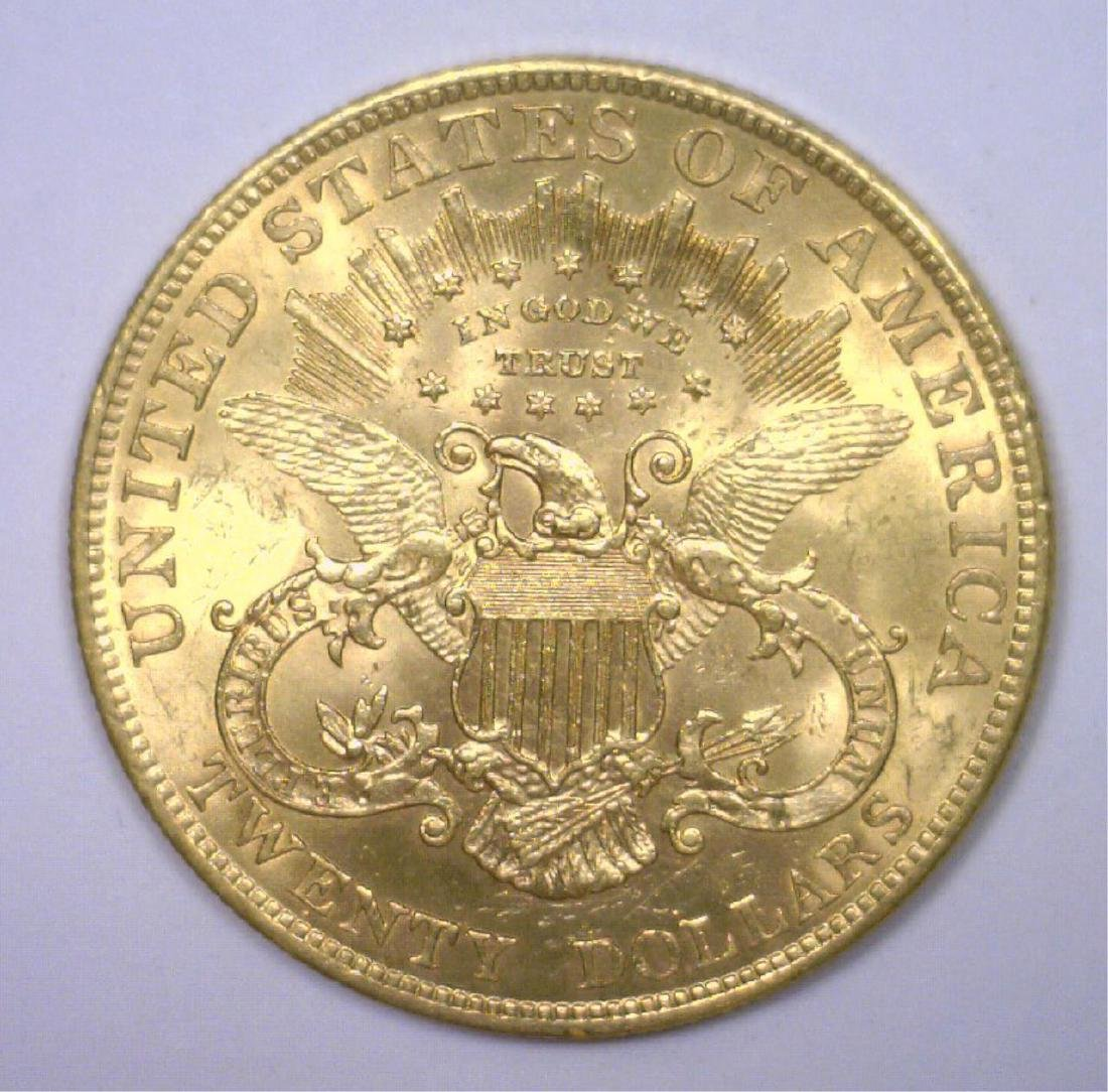 1904 $20 Liberty Gold Double Eagle BU - 2