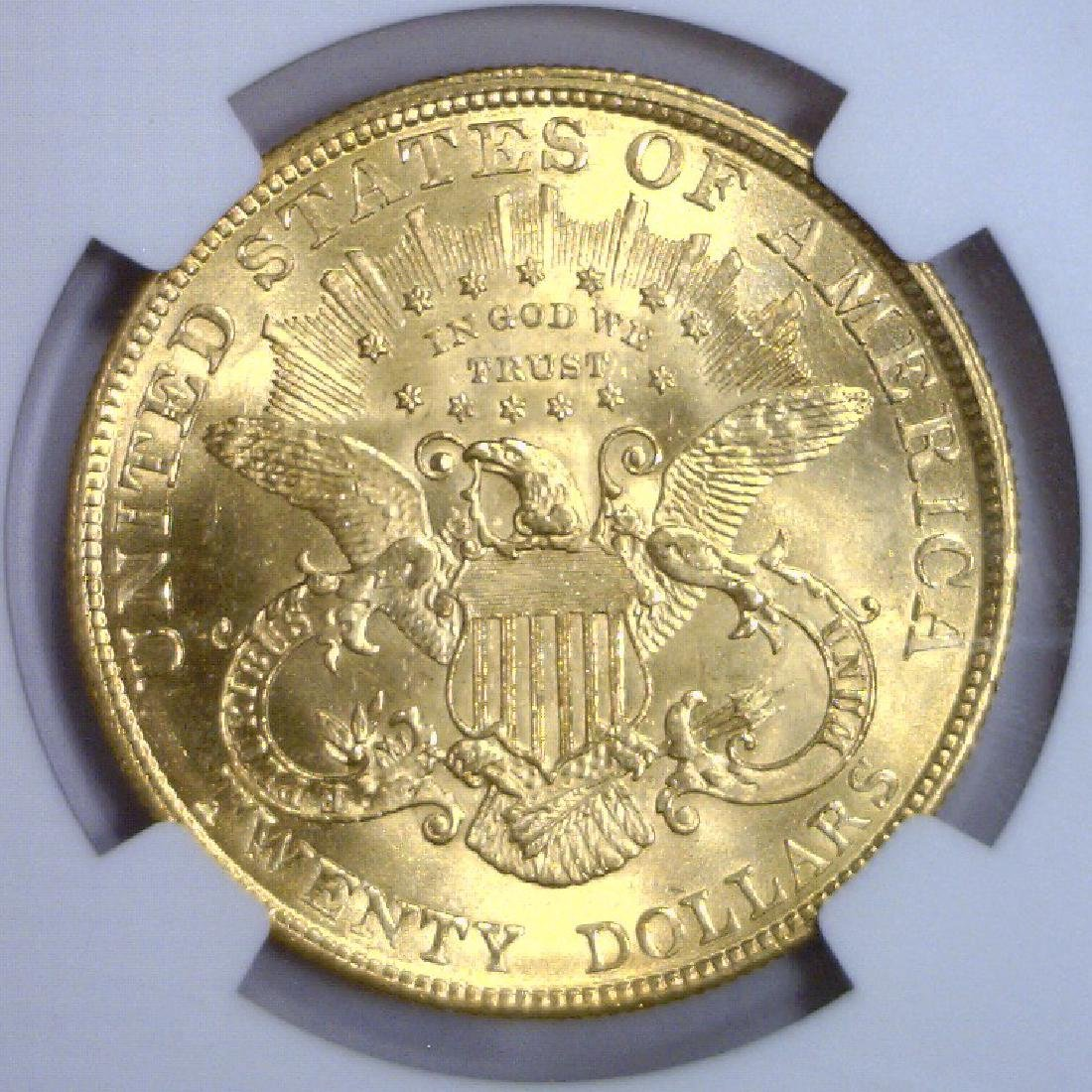 1904 $20 Liberty Double Eagle Gold NGC MS64 - 3