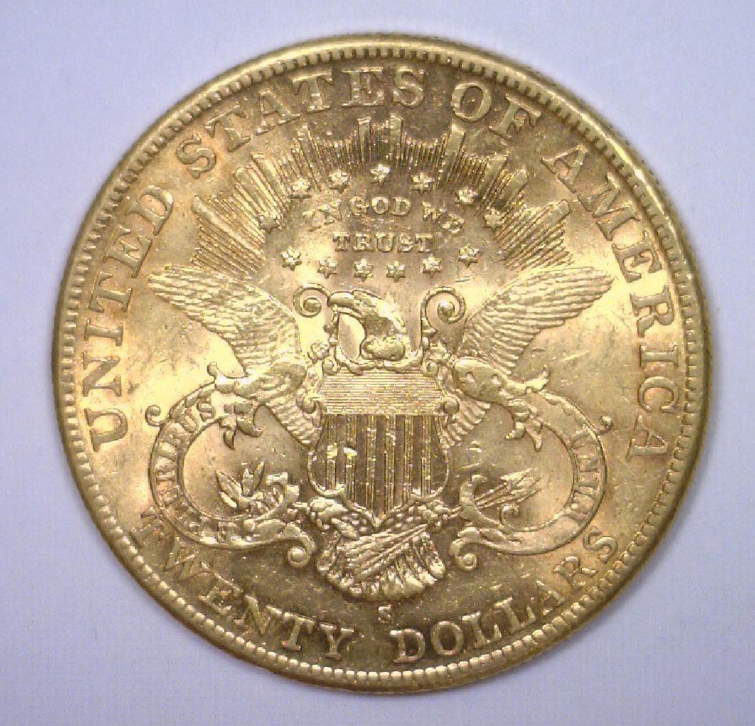 1904-S $20 Liberty Gold Double Eagle BU - 2