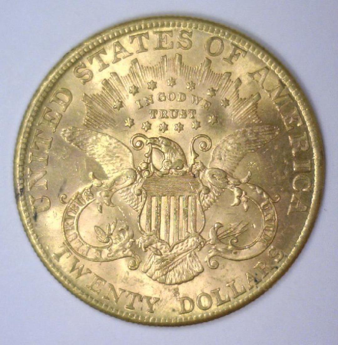 01907-S $20 Liberty Gold Double Eagle BU - 2