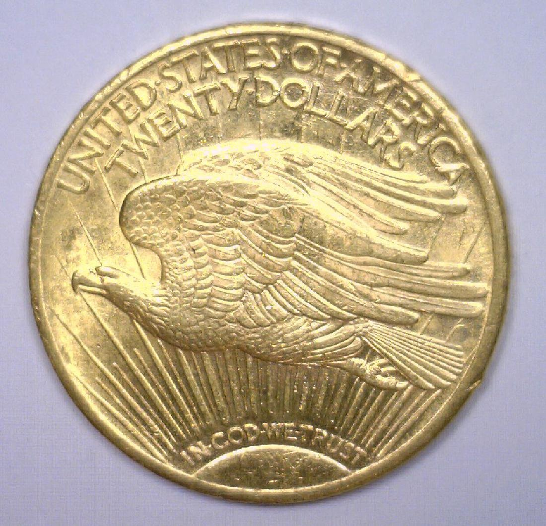 1924 $20 St. Gaudens Gold Double Eagle BU - 2