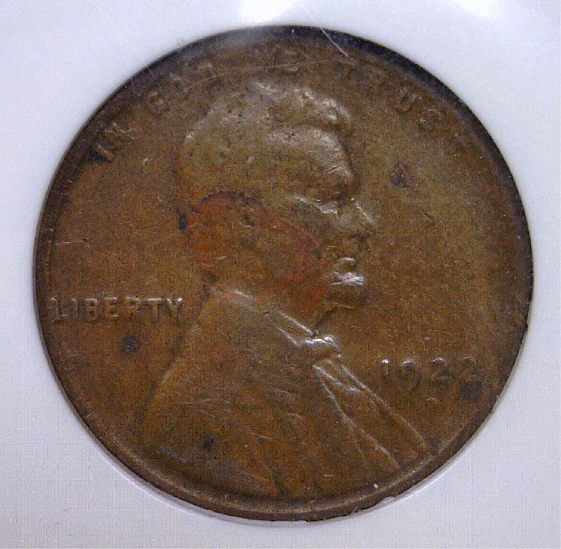 1922 D Lincoln Cent Key Date Very Good NGC VG10
