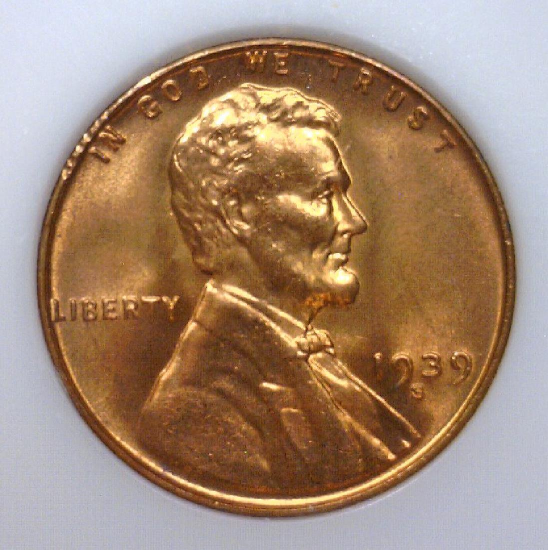 1939-S Lincoln Cent High Grade BU Uncirculated UNC