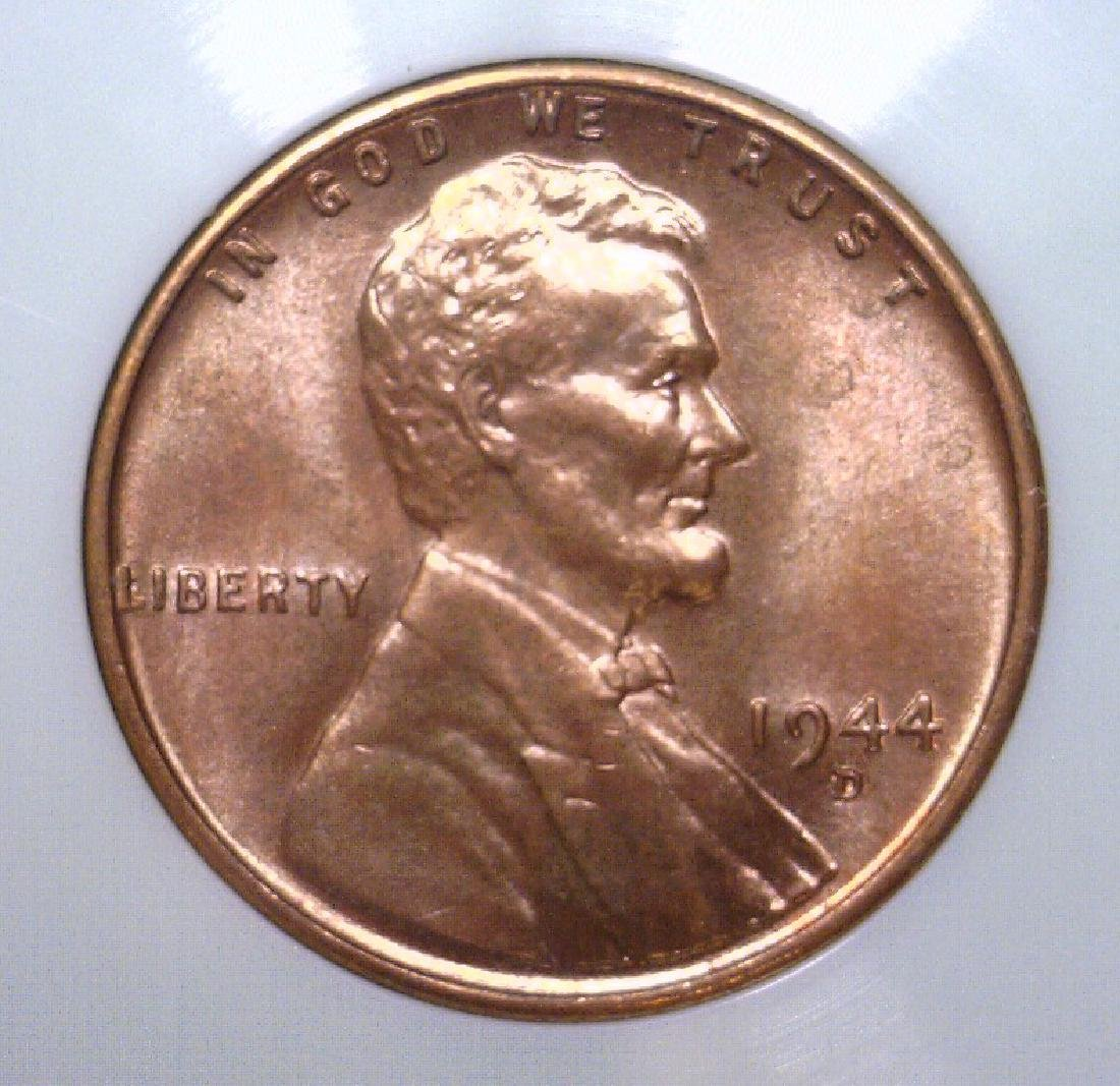 1944-D Lincoln Cent Mint State Uncirculated UNC