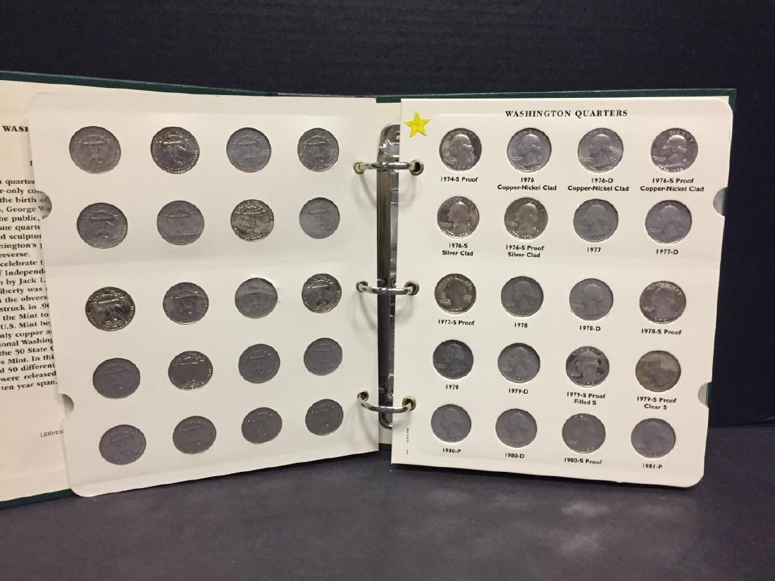 1968-1998 Washington 25c Complete Set PDS w/Proofs - 2