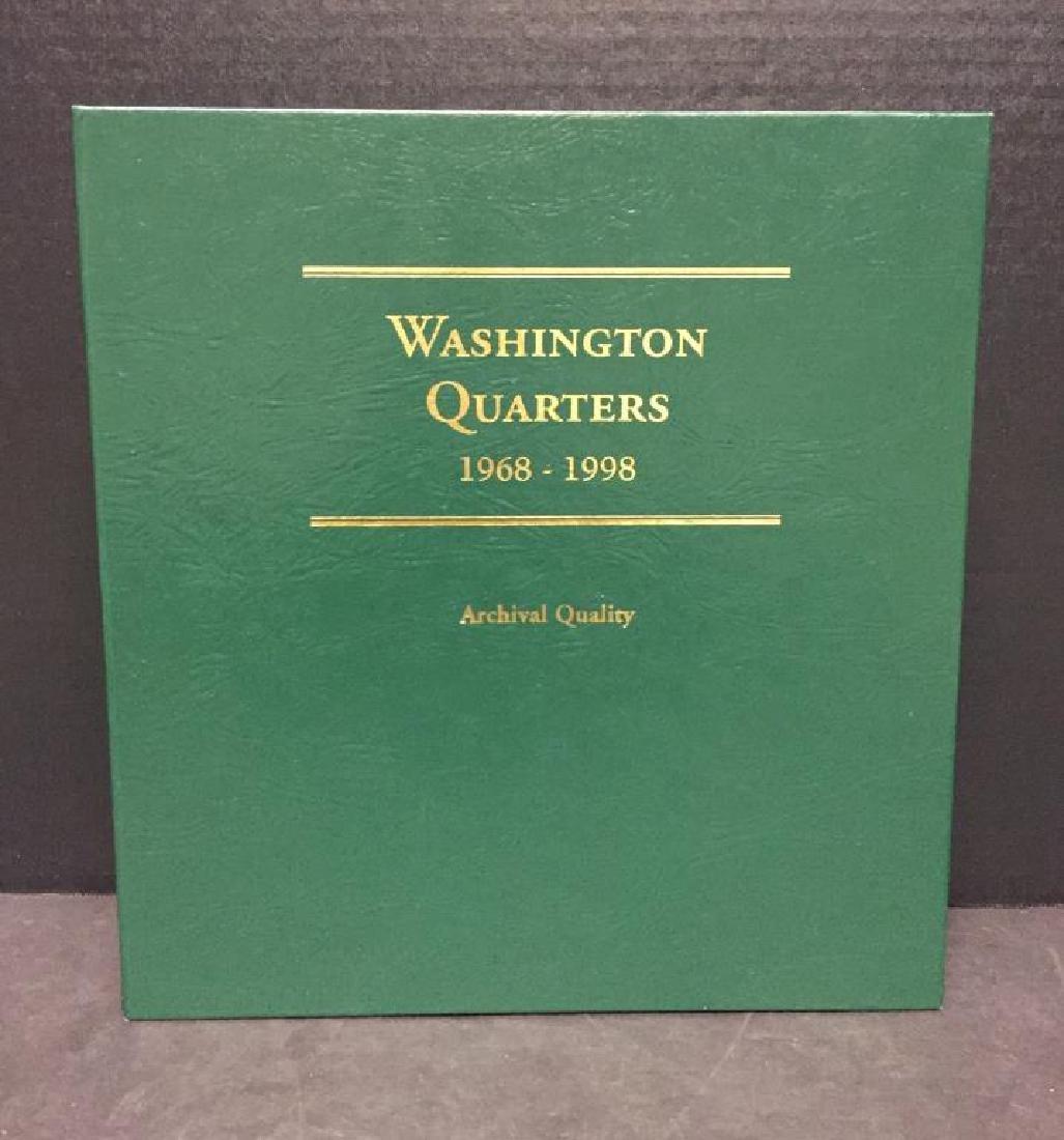 1968-1998 Washington 25c Complete Set PDS w/Proofs - 6