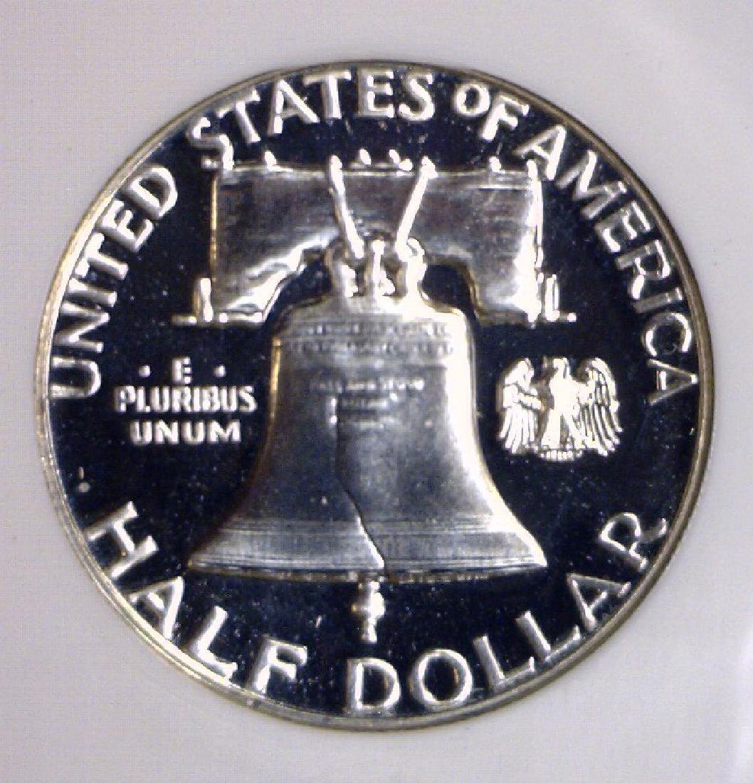 1961 Franklin Half Silver Proof NGC PF66 - 3