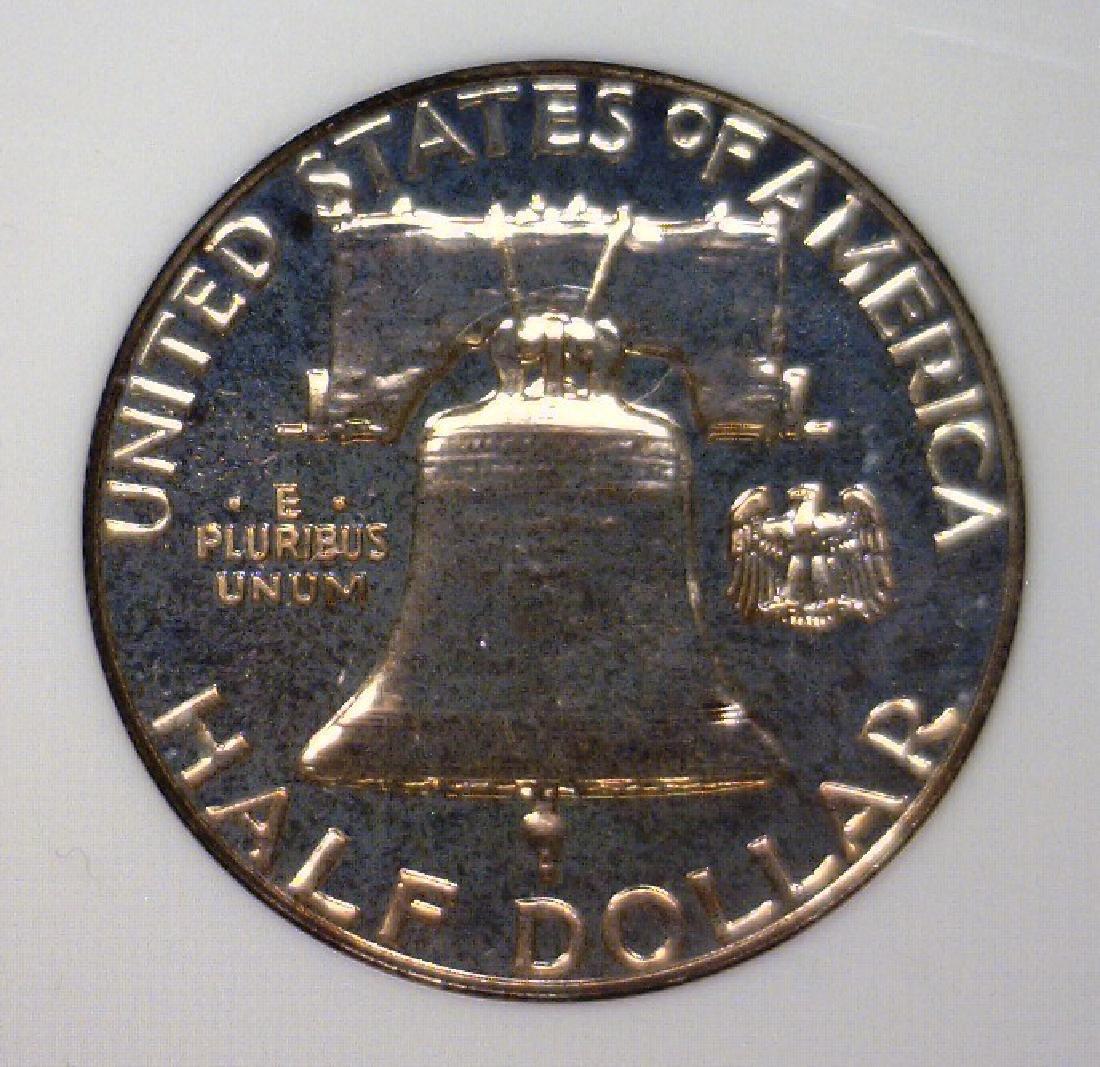 1962 Franklin Half Silver Proof NGC PF66 - 3