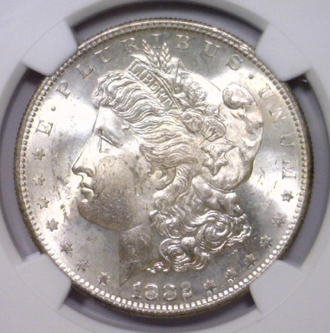 1882-S Morgan Silver Dollar NGC MS63