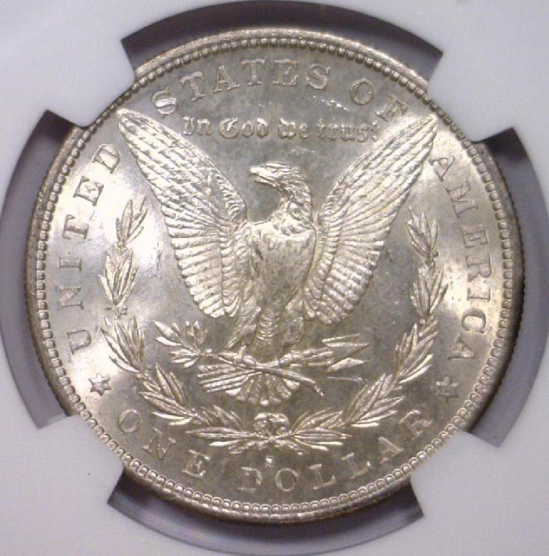 1882-S Morgan Silver Dollar NGC MS63 - 3