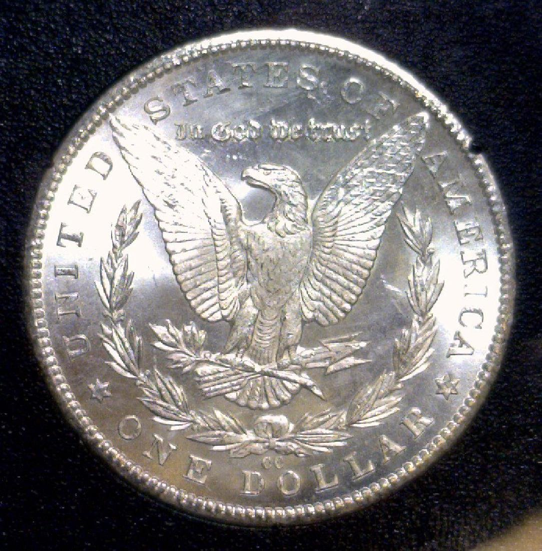 1884-CC Morgan Silver GSA $1 BU Uncirculated UNC - 2