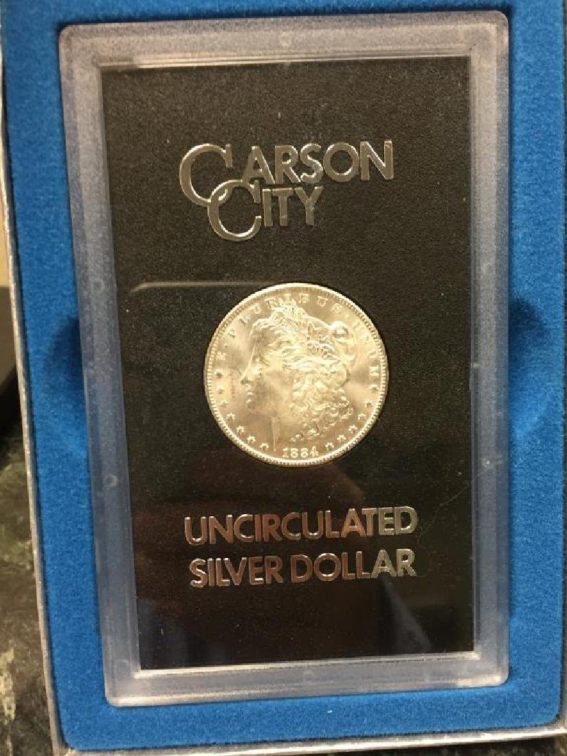 1884-CC Morgan Silver $1 GSA BU Uncirculated UNC - 3