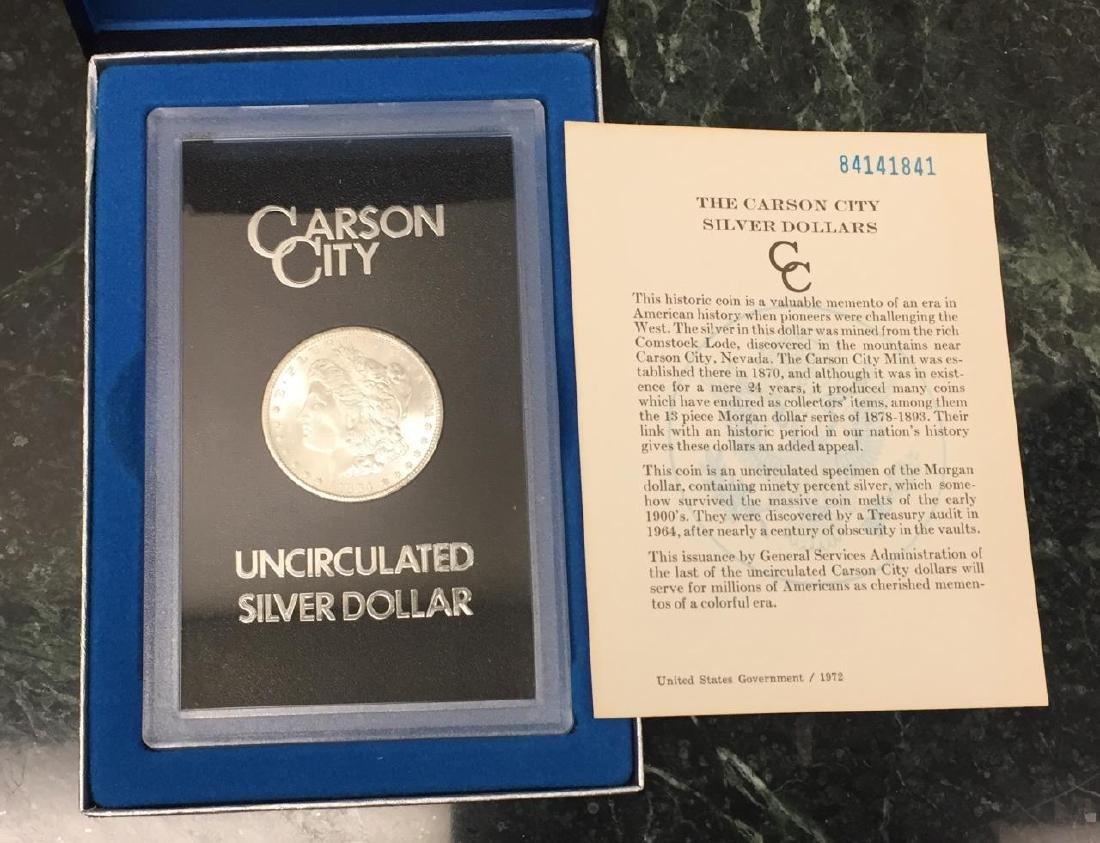 1884-CC Morgan Silver $1 GSA BU Uncirculated UNC - 4