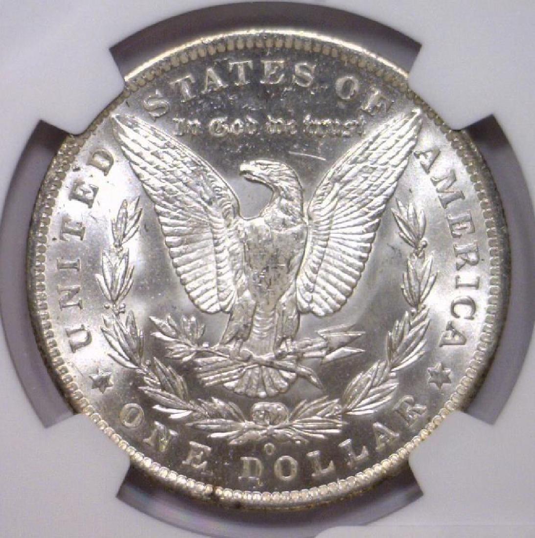 1885 O Morgan Silver Dollar NGC MS63 - 3