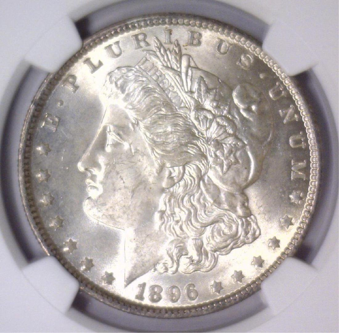 1896 Morgan Silver Dollar NGC MS63