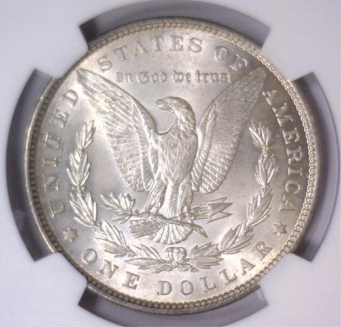 1896 Morgan Silver Dollar NGC MS63 - 3