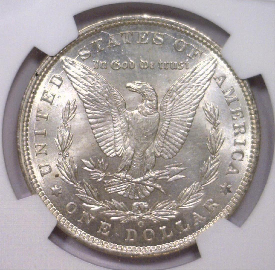 Investor Lot of 5 1900 O Morgan Silver $1 NGC MS63 - 3
