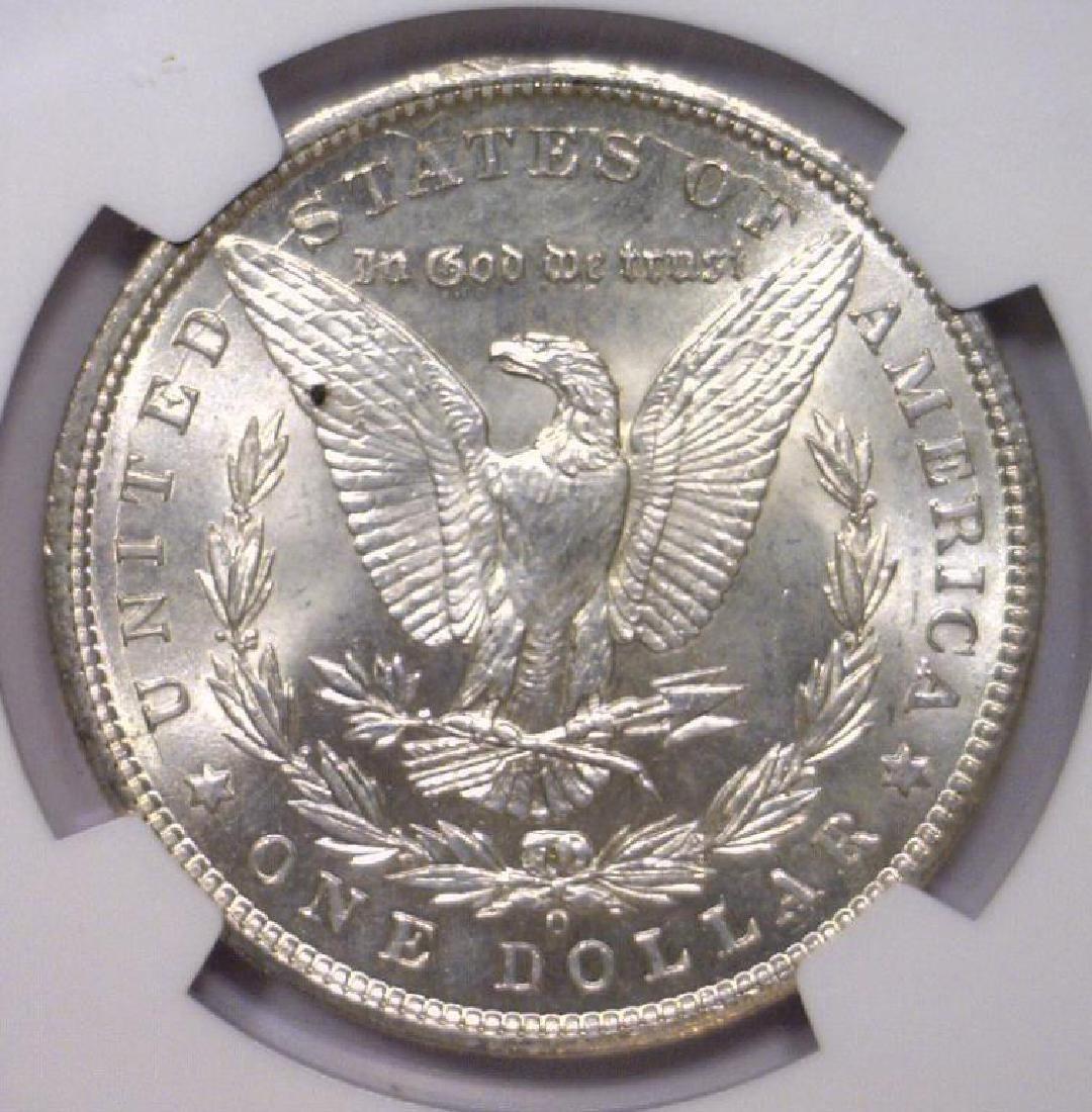 Investor Lot of 5 1900 O Morgan Silver $1 NGC MS63 - 9
