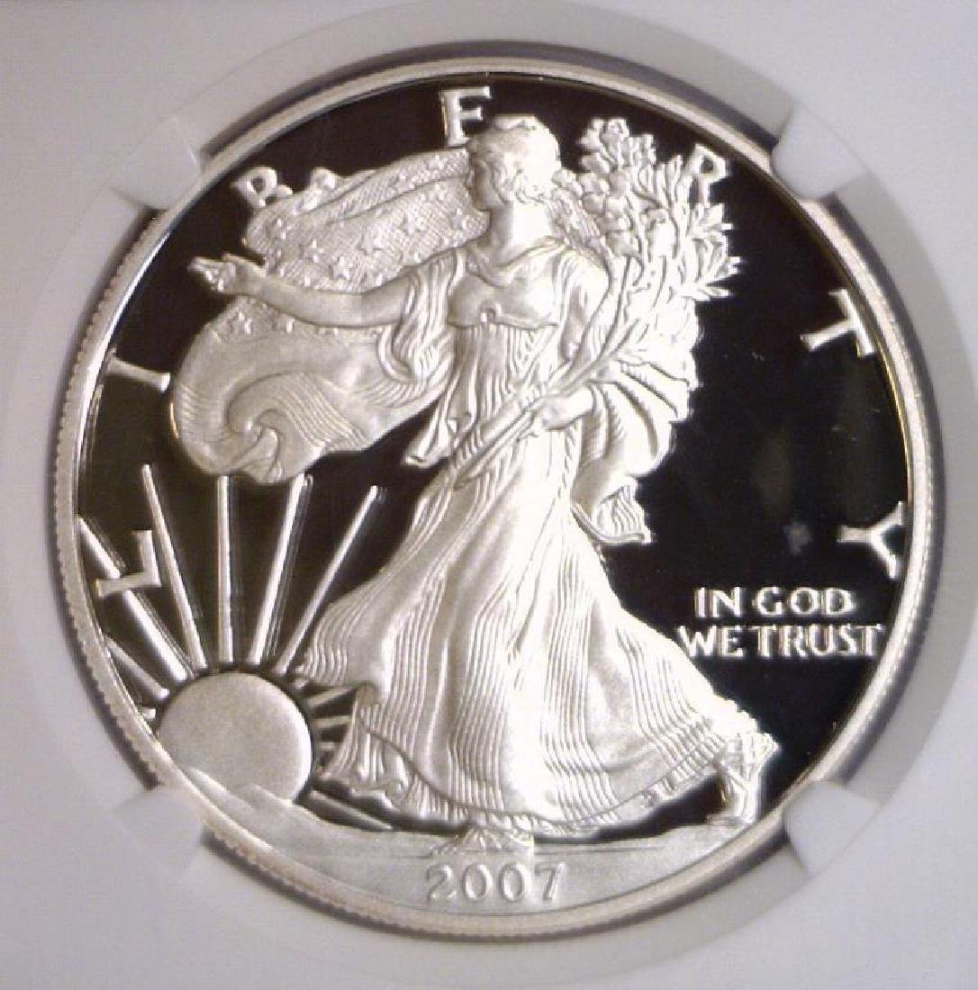 2007 W Proof Silver American Eagle NGC PF69 UCAM