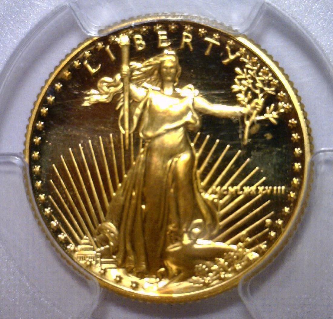 1988 $10 Proof Gold American Eagle PCGS PR70 DCAM