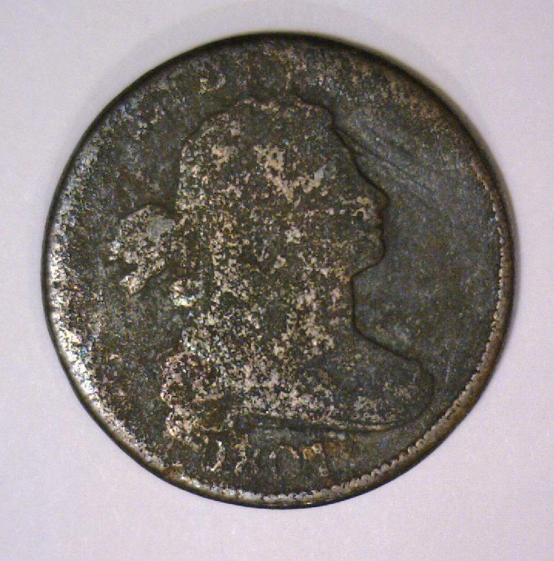 1801 Draped Bust Large Cent About Good AG
