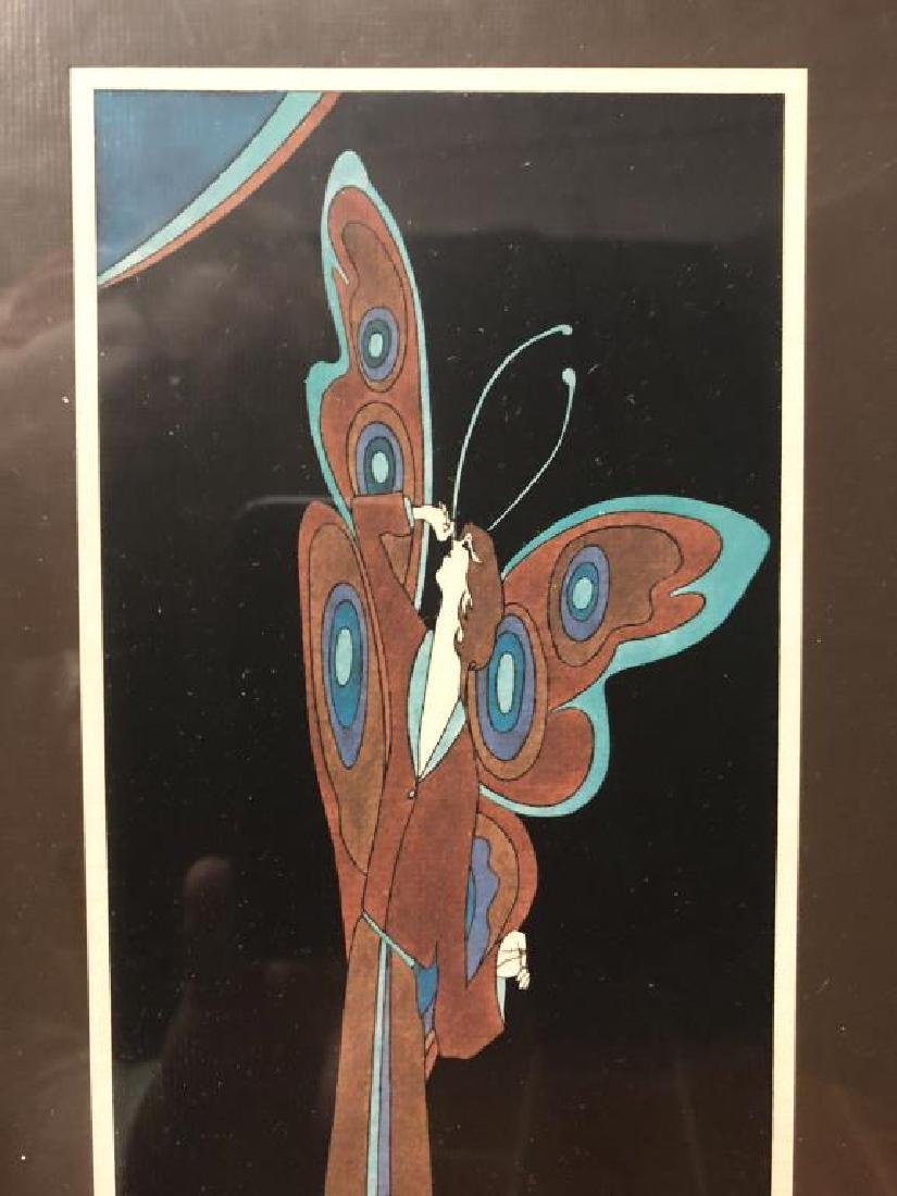 John Luke Eastman Psychedelic Art Print Butterfly - 4
