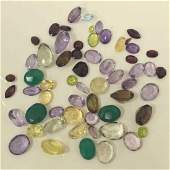 Large lot of mixed loose stones