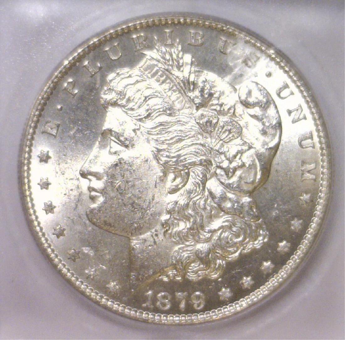 1879-S Morgan Silver Dollar ICG MS62