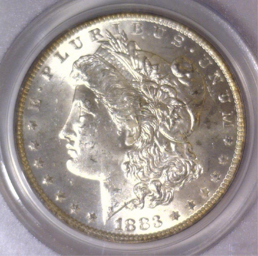 1883-O Morgan Silver Dollar PCGS MS64