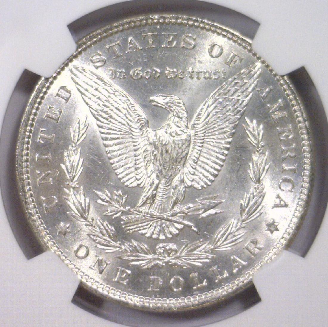 1885 Morgan Silver Dollar NGC AU58 - 3