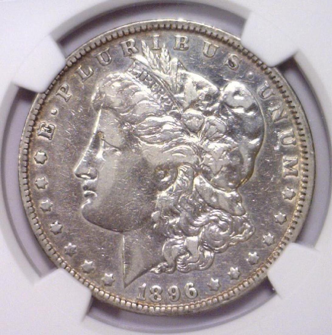 1896-O Morgan Silver Dollar NGC VF details